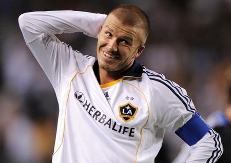 Boquitas de piñón: David Beckham