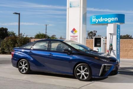 Toyota Mirai Hidrogenera