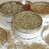 Secar las hierbas aromáticas en el microondas