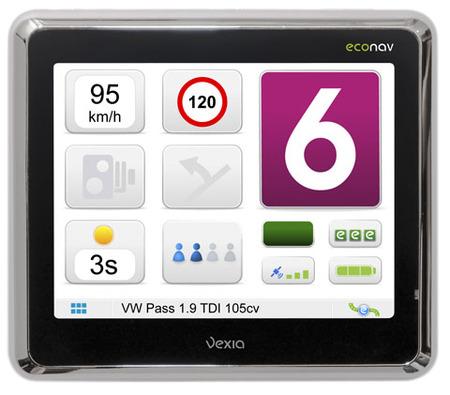 Vexia Econav, navegador GPS que ahorra combustible y emisiones