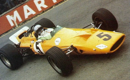 McLaren Ford 1968 Spa-Francorchamps