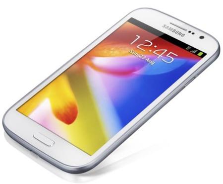 Samsung Galaxy Grand, cinco pulgadas con poca resolución