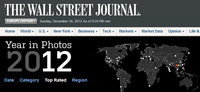 Adiós 2012: Un año en fotos de la mano del Wall Street Journal