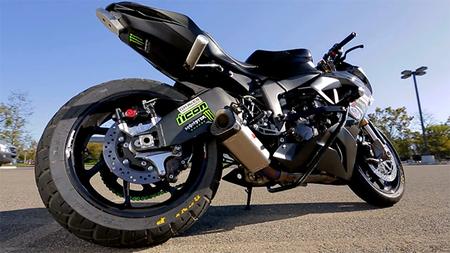 Kawasaki 636 Stuntriding