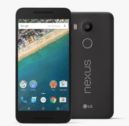 Google Nexus 5x 32GB por 277 euros