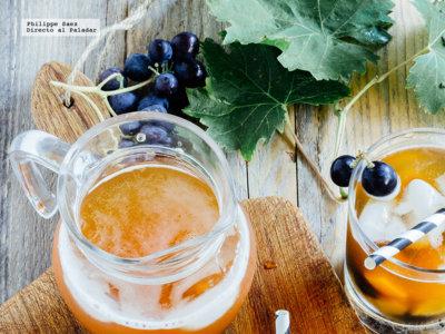 Cómo hacer el cóctel frutal con sidra y tequila