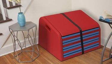 Los niños de la casa adorarán SlideRider que convierte tu escalera en un tobogán