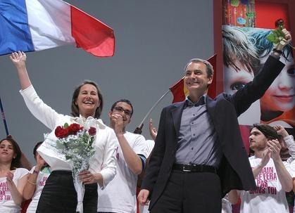 Zapatero quiere que gane Ségolène Royal