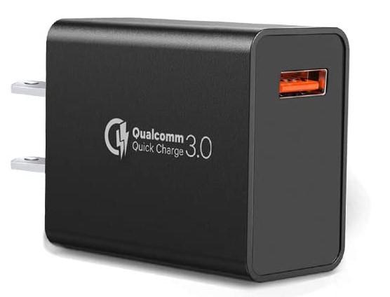 Quick Charge 3.0, cable USB tipo C con cargador de pared rápido adaptativo