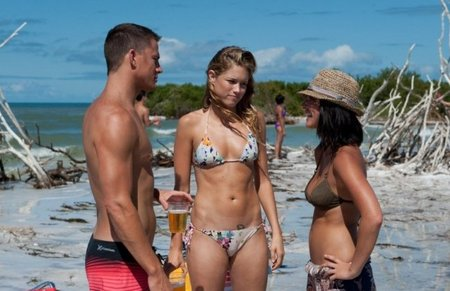 Channing Tatum, Cody Horn y Olivia Munn en Magic Mike