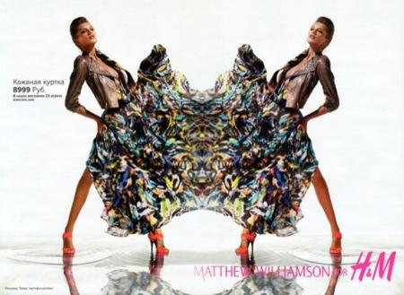 HM por Matthew Williamson, campaña Primavera-Verano 2009 IV