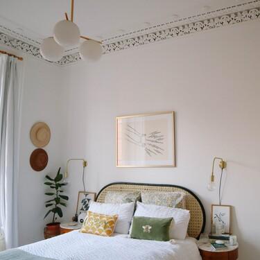 Antes y después: una reforma integral de un dormitorio, con obra y múltiples detalles decorativos