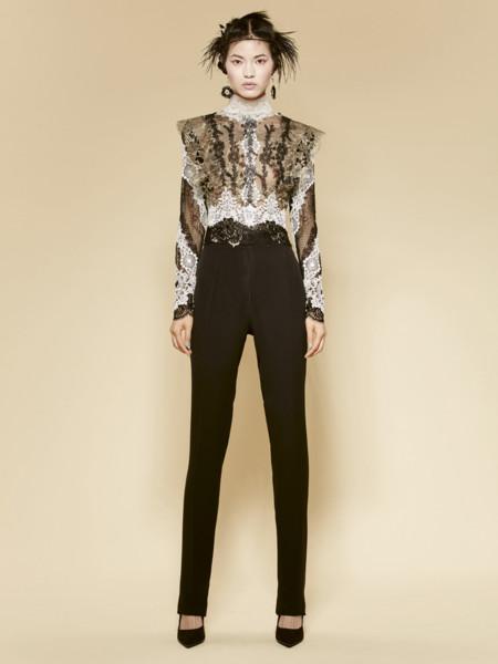 Look 37 Yolan Cris Pret A Couture Ss2016 16 87 Blusa 16 80 Pantalon
