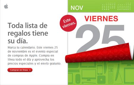 Día especial de compras Apple 2011