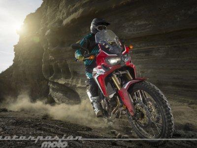 En offroad la Honda CRF1000L Africa Twin se comporta como lo que es, una autentica trail