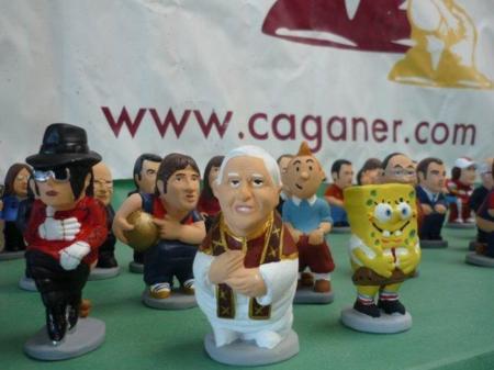 Caganers: figuras para el pesebre, ahora, inspiradas en nuevos personajes