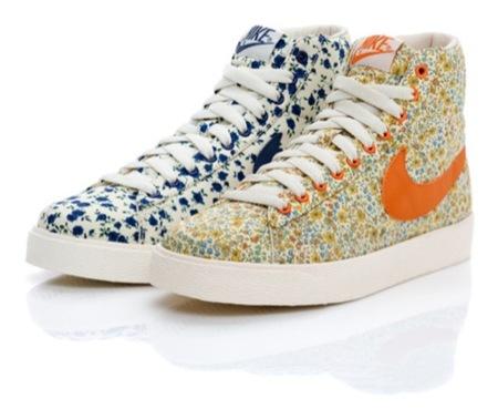 Las nuevas zapatillas de Nike bajo Liberty Fabric