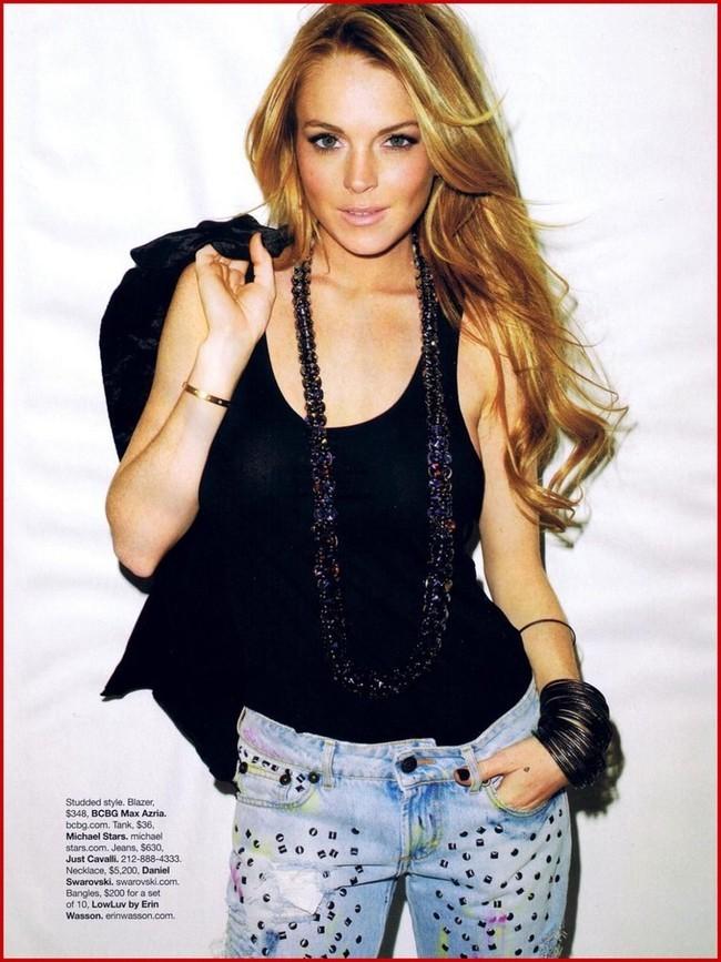 Foto de Lindsay Lohan en Harper's Bazaar (4/9)