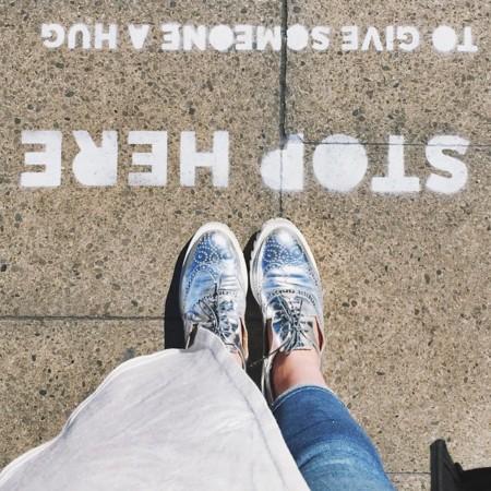 Zapatos Metalicos Tendencia Verano 2015 2