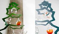 Six Pointed Star: árbol de navidad minimalista