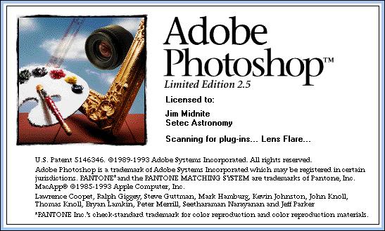 Foto de Evolución de la interfaz de Adobe Photoshop desde 1989 (5/24)