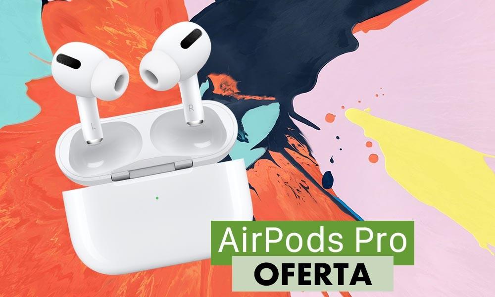 Si los pides a través de la app para smartphone de eBay y usas el cupón PTECH5, tienes los AirPods Pro a un precio superrebajado, de sólo 189,99 euros