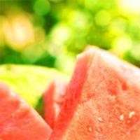 La sandía, hidratante y nutritiva. Ideal para combatir el calor