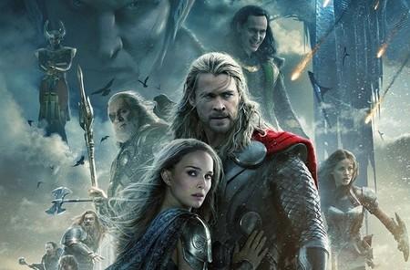 En Thor: el mundo oscuro el Dios del Trueno salva a los nueve reinos del elfo oscuro