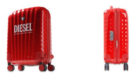 Trolley Diesel roja
