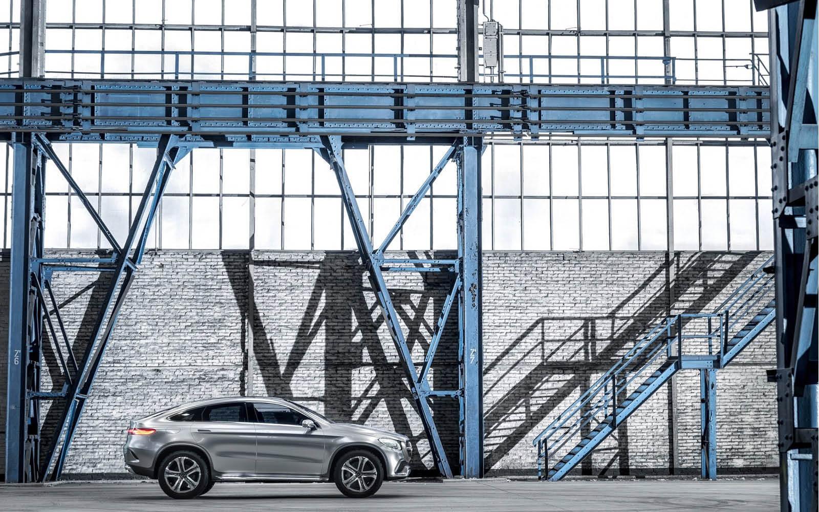 Foto de Mercedes-Benz Coupé SUV Concept (9/30)