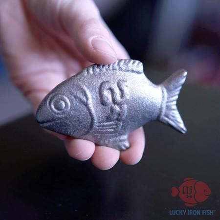 Un pez que cura la deficiencia de hierro