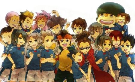 Inazuma Eleven es un grupo de niños con poderes espectaculares que además juegan al fútbol