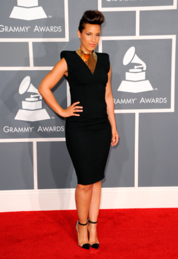 Alicia Keys Grammys 2012