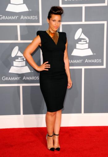 Alicia Keys Grammys 2012