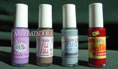 Probamos los esmaltes de uñas de Eyeko para el verano 2010