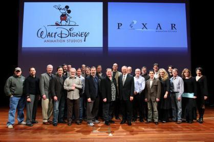 Todos los proyectos de Pixar y Disney hasta el 2012