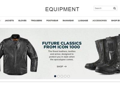 Equipment, la tienda de Bike Exif, delicatessen motera