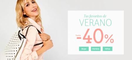 Hazte ya con la moda de verano con un 40% de descuento en La Redoute