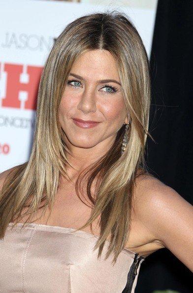 Jennifer Aniston premiere de The Switch. Peinado