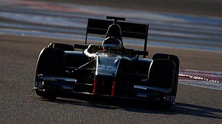 Mikhail Aleshin y Max Chilton, pilotos de Carlin para su primera temporada en la GP2