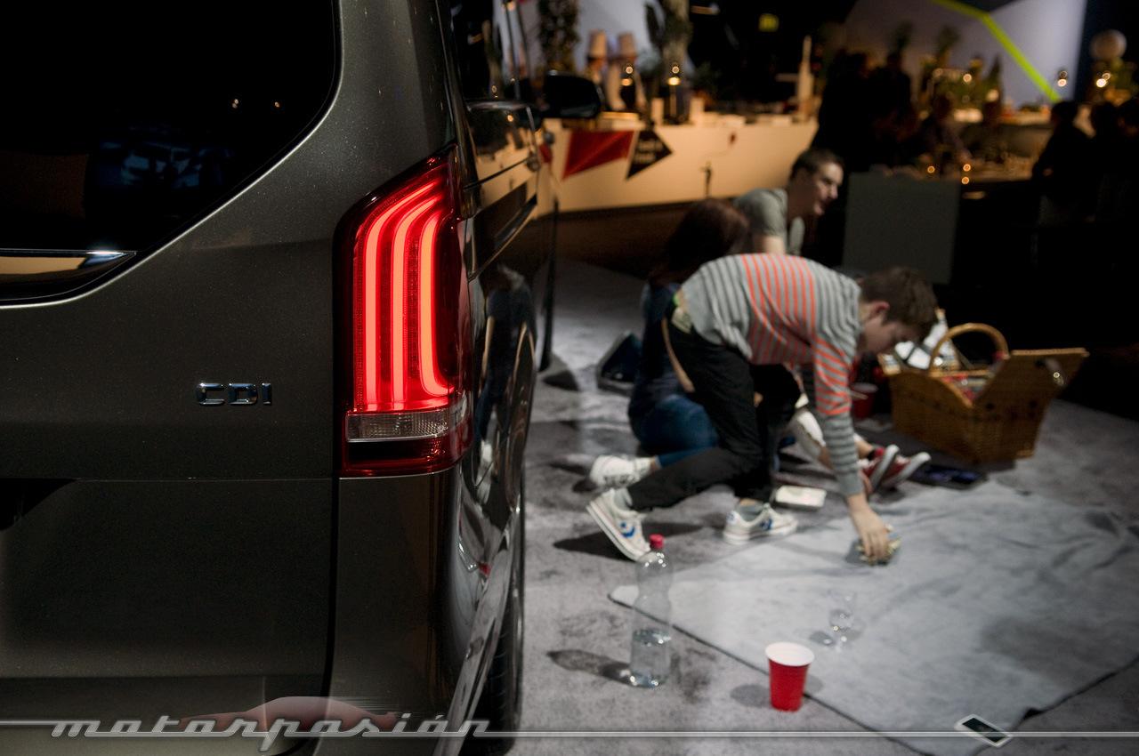 Foto de Mercedes-Benz Clase V (presentación) (3/40)