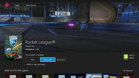 Los miembros de Xbox Insider Program ya pueden regalar juegos desde la store de Xbox One