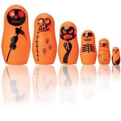 Halloween 2010: Matrioskas que dan miedo