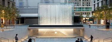 La nueva Apple Store de Milán tiene probablemente la mejor entrada a una tienda del mundo