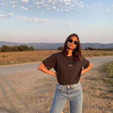 11 camisetas para combinar con vaqueros (muchas con descuento) para no complicarnos demasiado con nuestro look primaveral