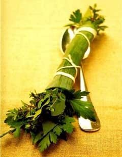 Bouquet de hierbas, bouquet garni