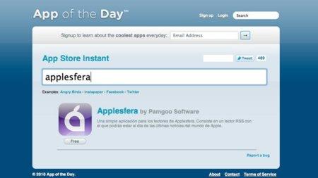 App Store Instant, búsqueda instantánea de aplicaciones para iOS