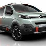 La Citroën Spacetourer también se apunta a la moda SUV con la versión Hyphen Concept