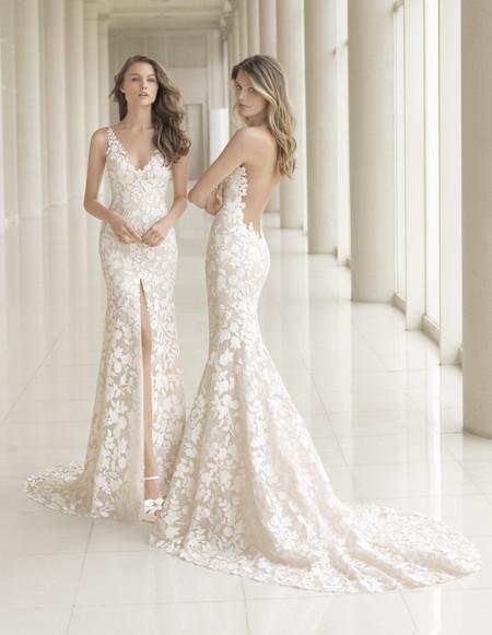 los vestidos de novia más sexys los firma rosa clará en su colección