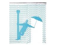 Cortina de ducha inspirada en Cantando Bajo la Lluvia